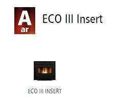 Estufas de ar ECO III Insert 1