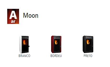 Estufas de ar Moon 1