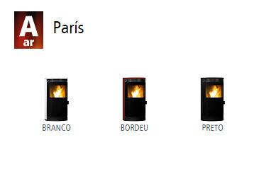 Estufas de ar París1