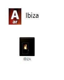 Estufas de ar canalizado Ibiza 1