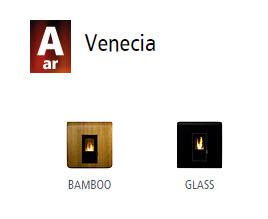 Estufas de ar canalizado Venecia 1