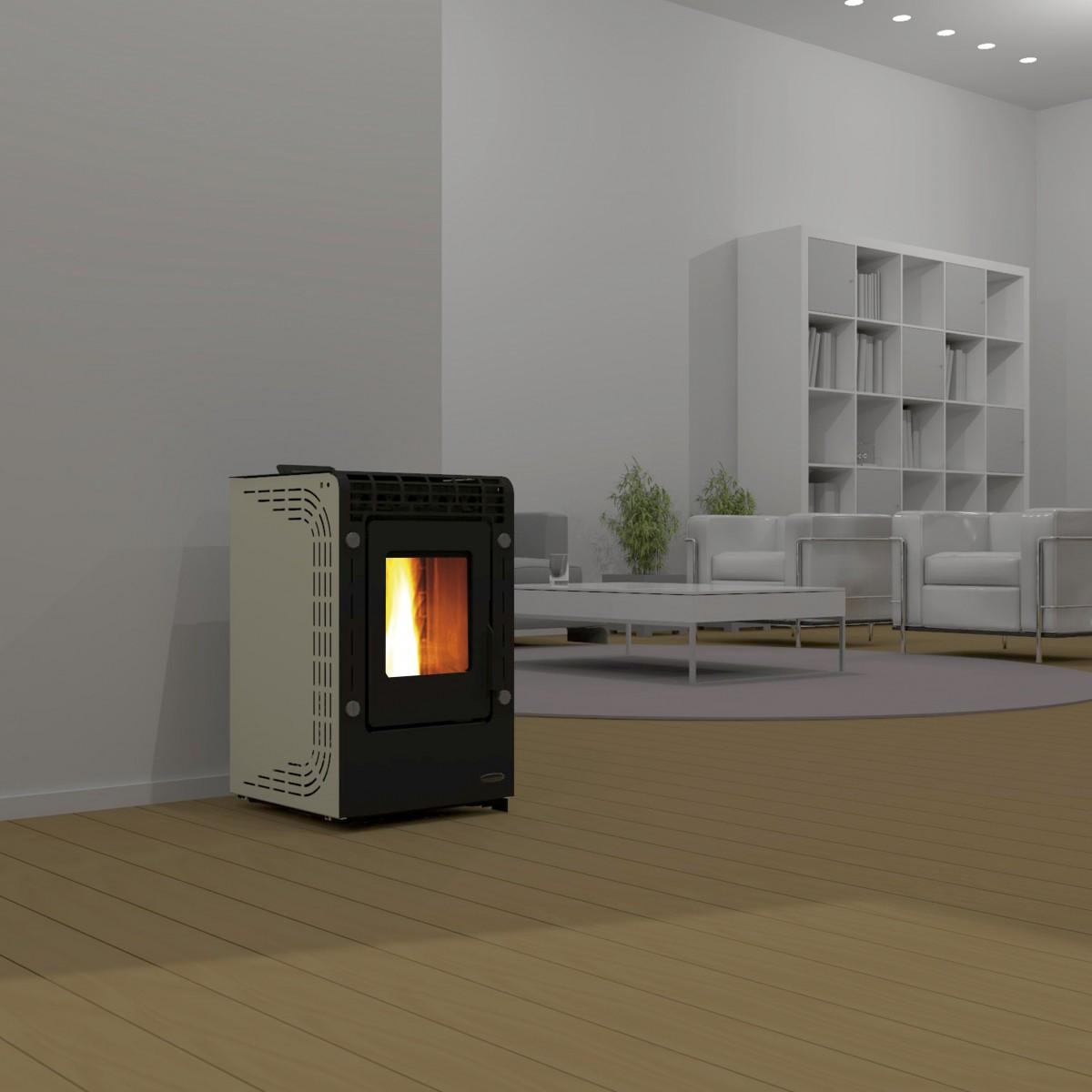 salamandras a pellets ecoforest belsolar. Black Bedroom Furniture Sets. Home Design Ideas